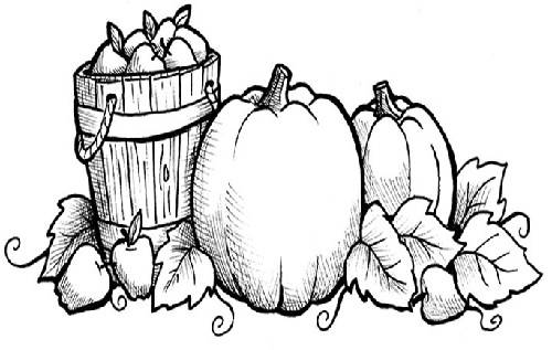 Fall Coloring Contest!