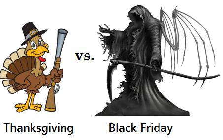 Thanksgiving: a paradox