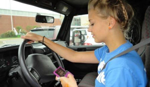 Driving While Under the Influence… of texting