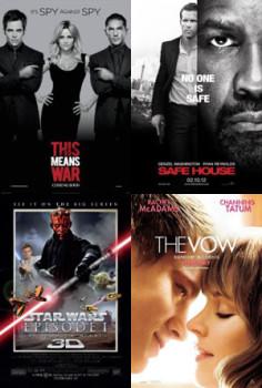 Valentine's Day 2012 Movie Suggestions