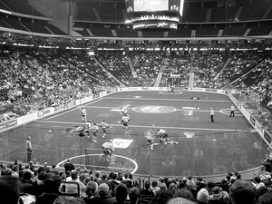 Three-ring lacrosse