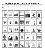 30 Reasons to Celebrate
