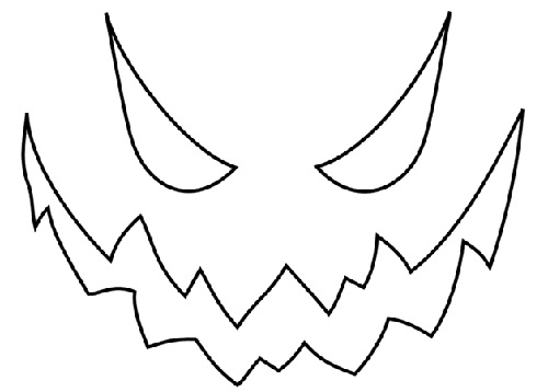 scary jack o lantern face template - a stockpile of stencils minnetonka breezes