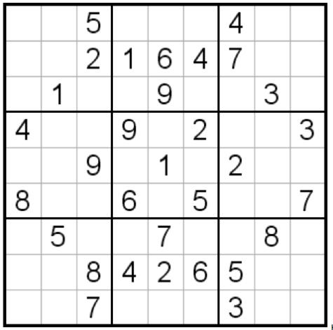 Suduko Puzzles