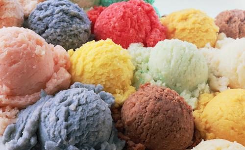 Spring means...ice cream!