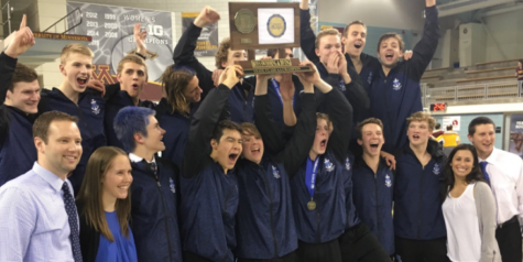 Boys' Swim & Dive Team Named 2017 State Champions