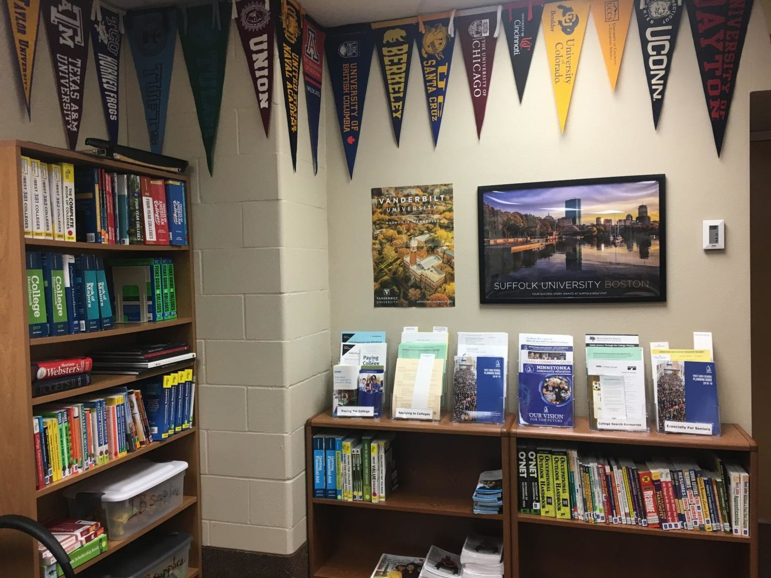 The College & Career Center is an excellent resource for MHS students.