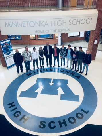 2018 South African International Studies Students' Arrival in Minnesota