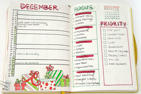 Looking For A Way To Be Creative And Organized? Try Bullet Journaling