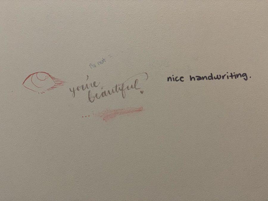 Minnetonka students leave nice notes.