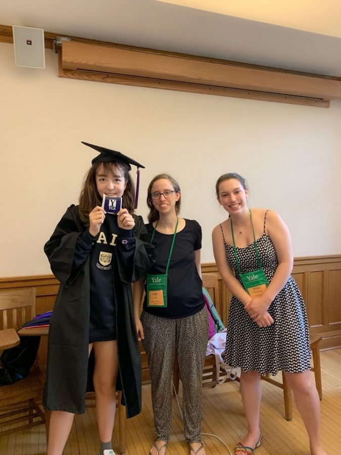 Photo of me and my instructors after completing the Yale Young Global Scholars summer program in Politics, Law, and Economics